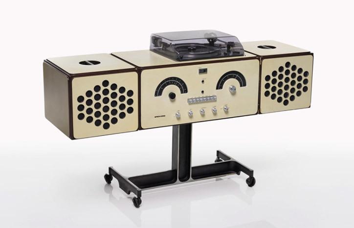 Castiglioni's RR126 radio-phonograph