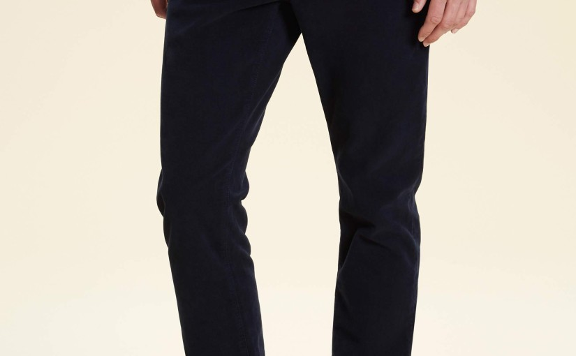 Hackett's moleskin trousers