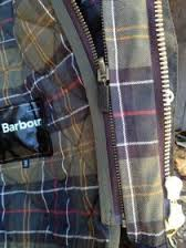 Barbour waxed jacket