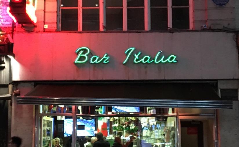 Bar Italia – Frith Street, London,W1