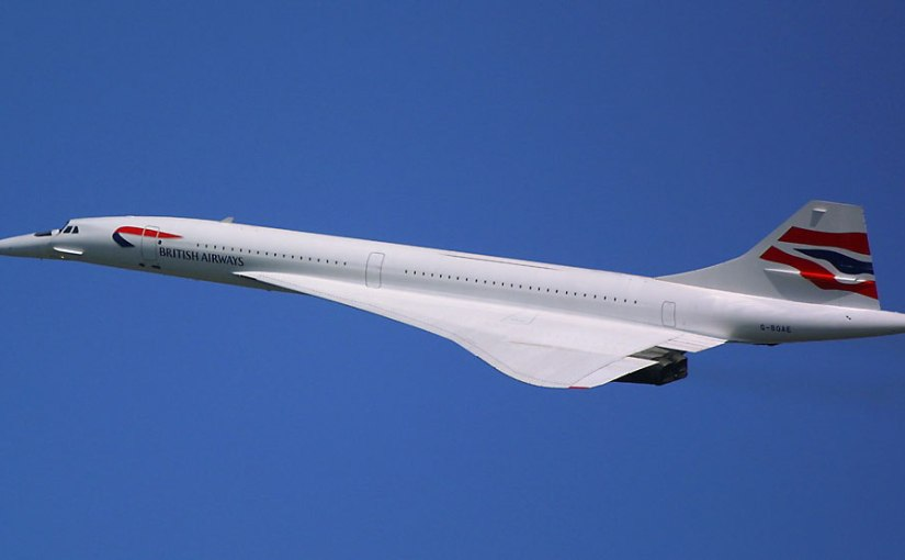 Concorde by Dominic Baker