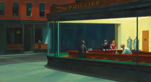 "Edward Hopper's ""Nighthawks"""
