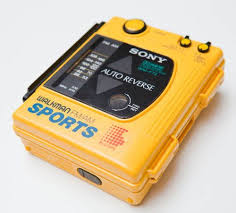 Sony Walkman waterproof