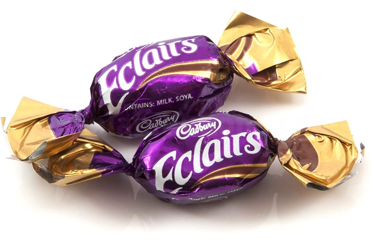 Cadbury's Chocolate Eclairs