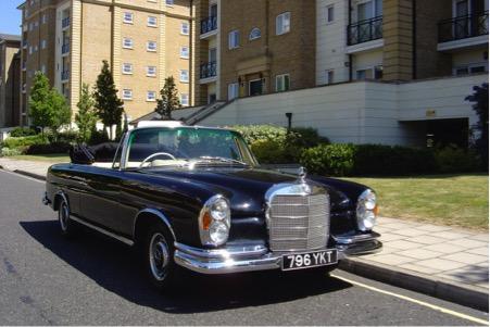 Mercedes 220SE Coupe &Cabriolet