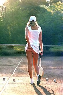 Tennis Girl and Friends