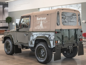Barbour Land Rover
