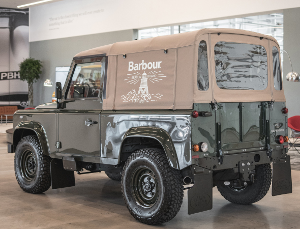 Barbour x Land Rover Defender