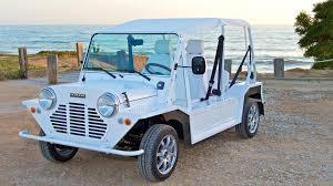 Mini Moke Goes Electric