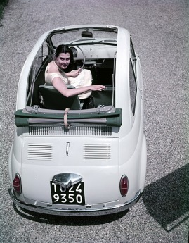 Old Fiat 500 - roof shot