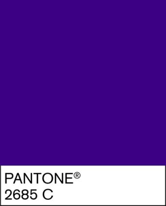 Pantone Cadburys 2685C