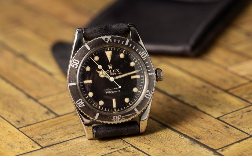 A Rare Rolex – The Submariner 6536
