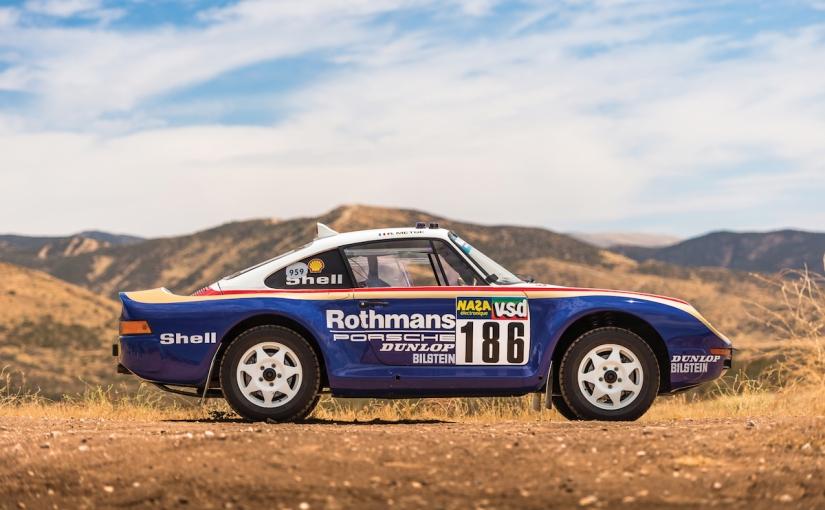 Porsche 959 Paris –Dakar